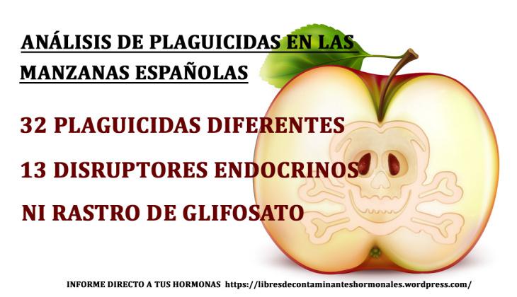 El glifosato no aparece en los residuos de alimentos españoles porque no se busca…